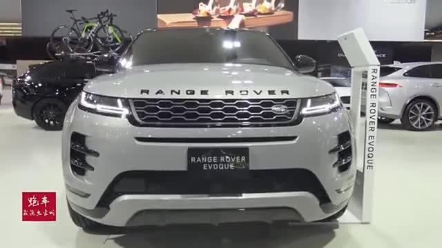 视频:2020款路虎揽胜Evoque水泥灰实车拍摄,全方位展示