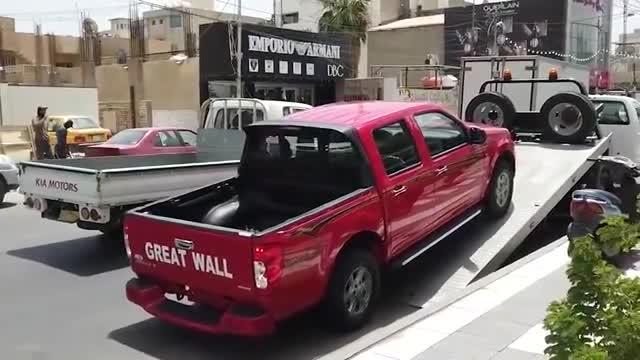 视频:2020款长城风骏5到店卸车,开车上路的那一刻,才知道有多帅气