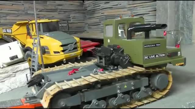 超酷玩具,重型RC推土机!