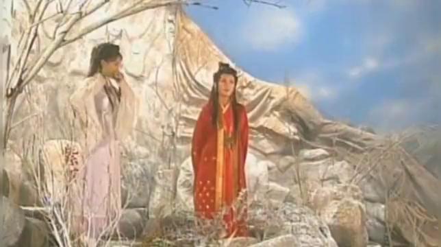 当年的杨恭如太美了!在[雪花神剑]中饰演梅降雪,美出了天际