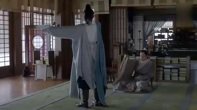 《琅琊榜》胡歌和靳东在商量事情,靳东被王磊弟弟偷袭!