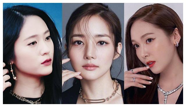 8大韩国女神红毯秀:郑秀晶郑秀妍久违合体,却被朴敏英抢风头