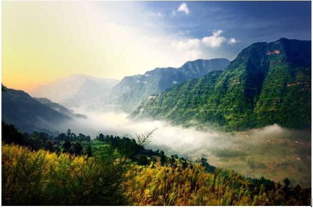 """重庆又一公园走红,山川秀美不输庐山,被誉为中国""""千瀑之乡"""""""