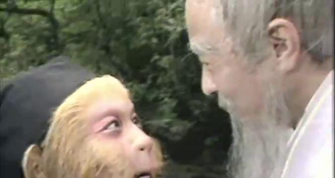 悟空让师父教给他腾云之术,师父告诉他很难学,他依然迎难而上