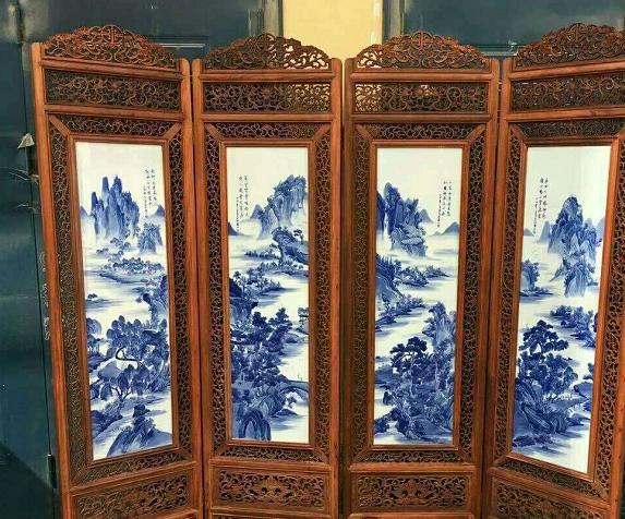 中华传统之屏风欣赏,古典中式屏风之美韵,中国式的空间之美!