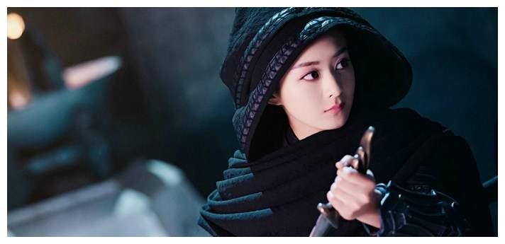 """有种""""美""""叫女星穿黑衣古装,赵丽颖赵露思倪妮,谁最惊艳?"""