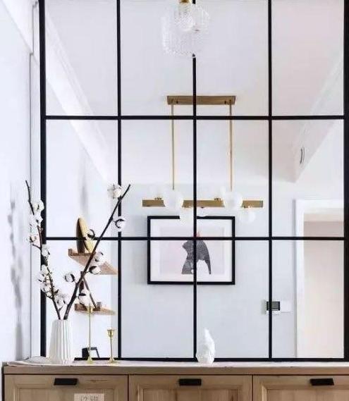 6套玄关、卧室、卫生间隔断装修案例,简洁实用让空间更有层次感