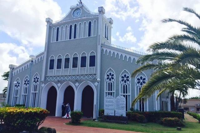 塞班岛有座圣母教堂,却是当地的旅游圣地