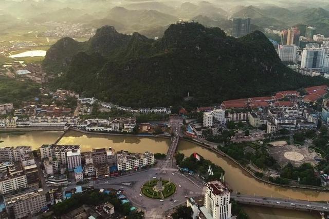 广西未来最具发展前景的县,迎来3条高速公路,未来发展不可估量