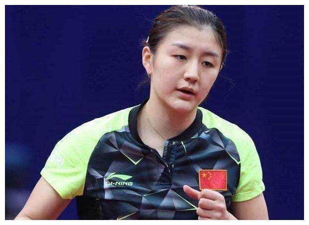 国乒第一美女陈梦,如今身材高挑美得冒泡,颜值不逊一线女明星