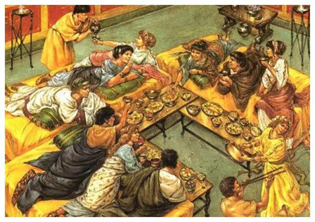 """西方饮食文明之源为何在古希腊?除了""""口腹之欲"""",更是西方精神力量"""