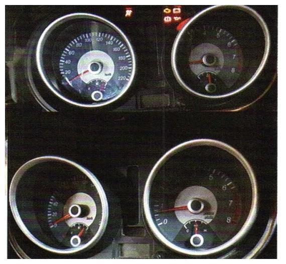 别克凯越熄火后,仪表转速表、车速表、水温表、汽油表均不能归零