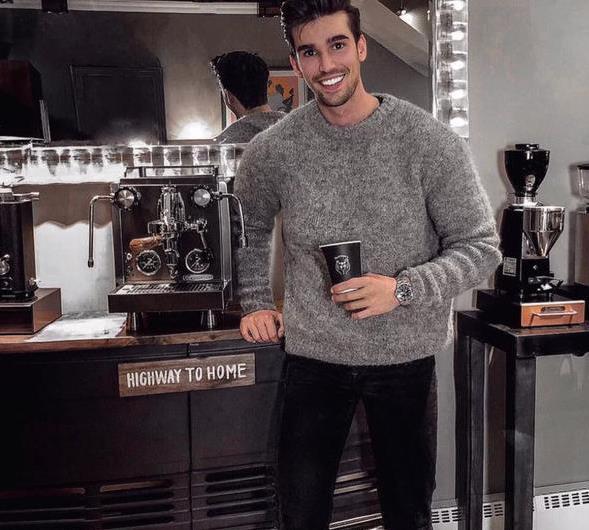 太帅了,最佳男士毛衣+牛仔裤的穿搭样式,你有几款?