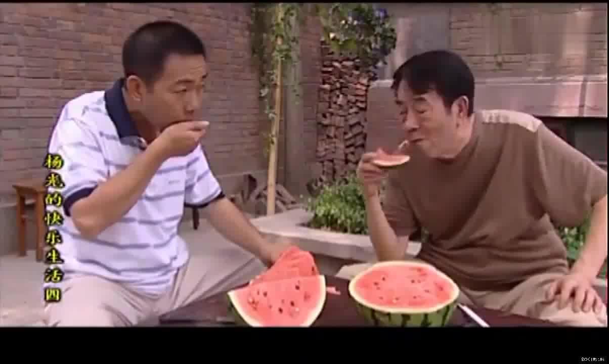 《杨光的快乐生活》大西瓜太诱人啦!吃完西瓜看大哥打架去!