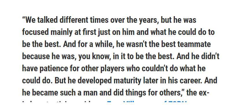 科比首任湖人教练:他不是一个志向队友,他专注只为了自己