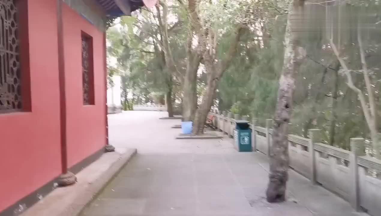 四川南充:阆中古城地标建筑,观景台上看风景,美得没法说