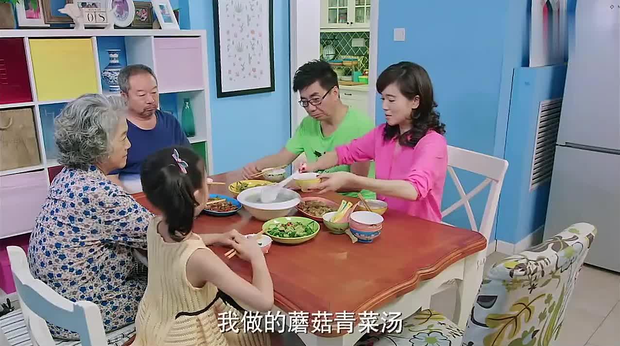 小两口闹别扭,赵明浩不喝楠楠盛的汤,亲爸都看不下去了