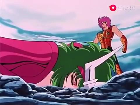 圣斗士星矢:仙女座阿瞬将生死置之度外,海斗士伊奥真是懵了!
