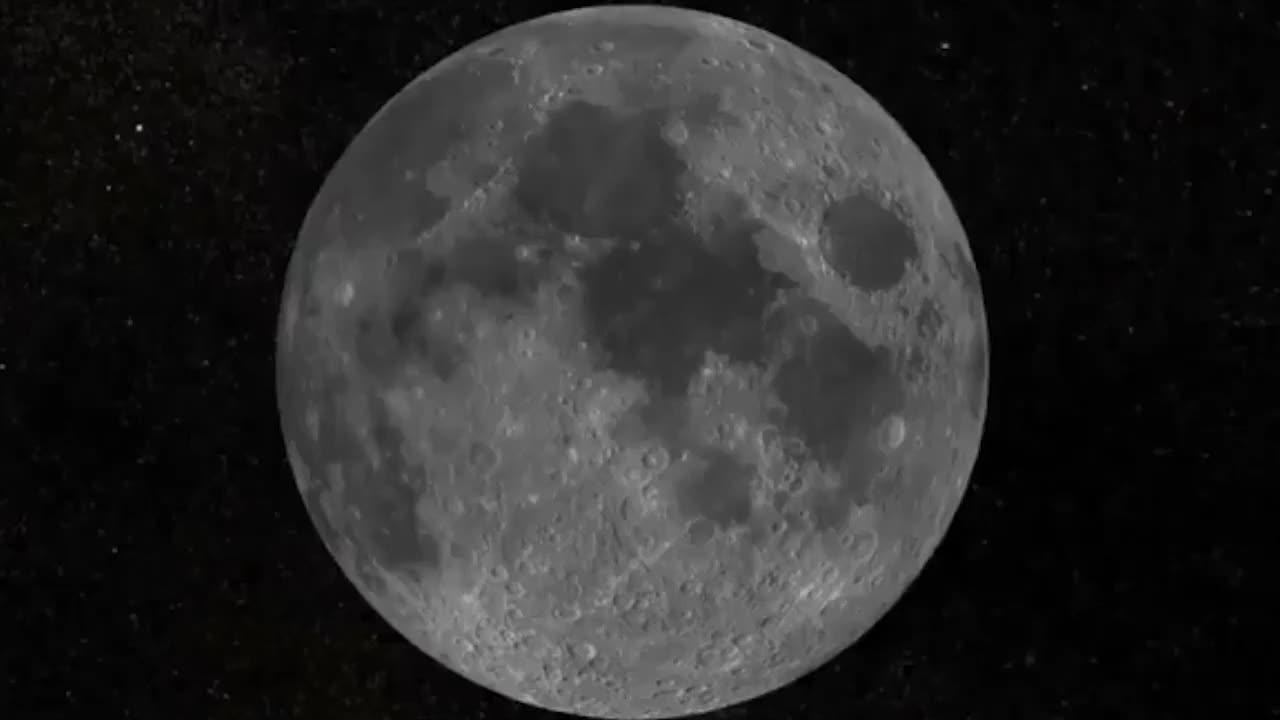 放大阿波罗11号在月球上的着陆点