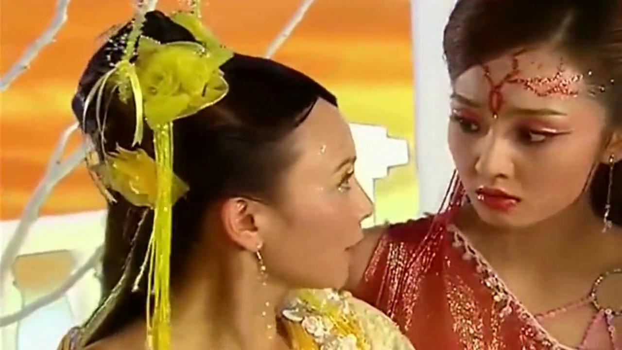 四公主蒋欣变身后羿,阻止霍思燕和汤加丽(嫦娥)跳舞