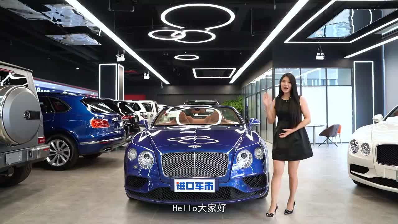 宾利欧陆GT敞篷版 高颜值动感跑车 彰显独特魅力