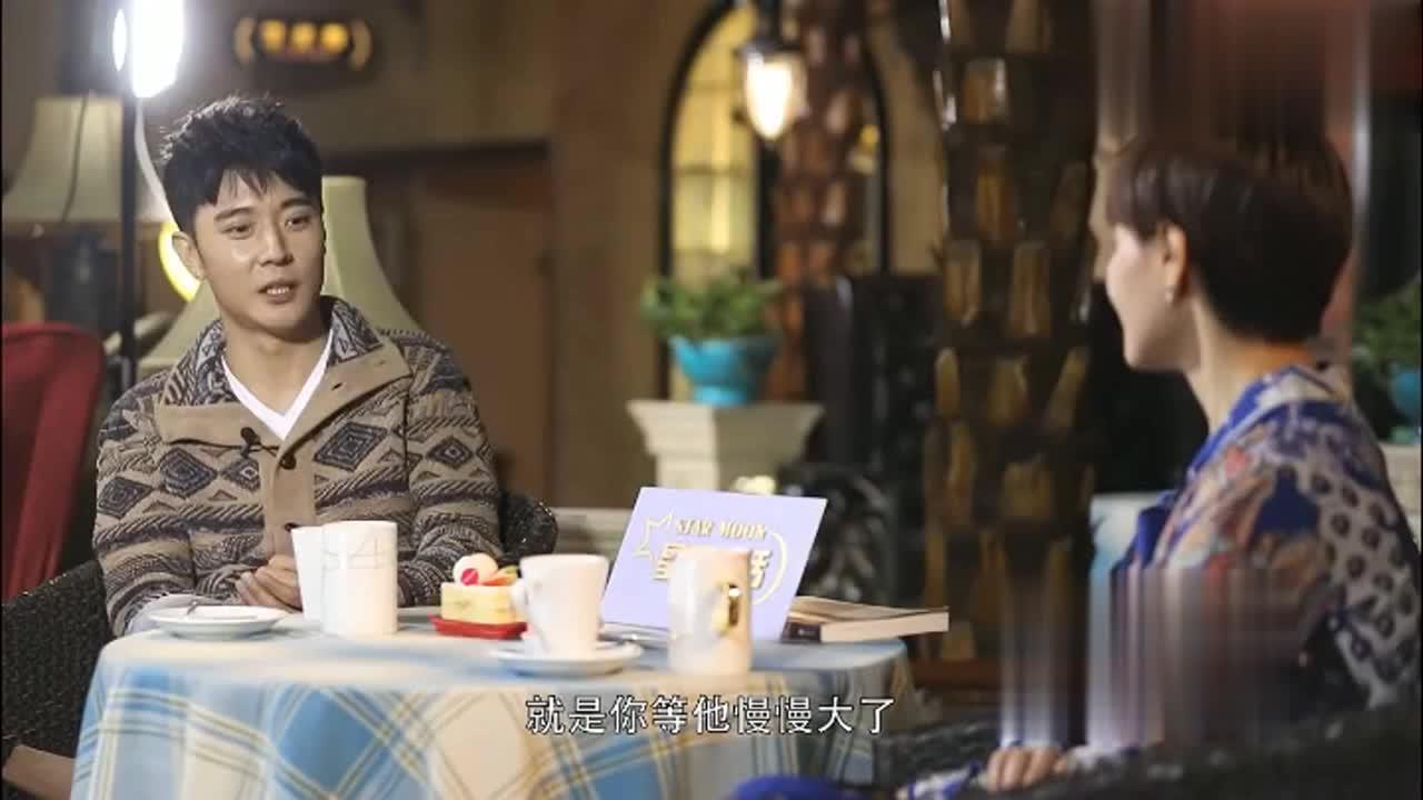 张丹峰自爆陪继子张镐濂考上戏,希望他继承我,一个学校毕业