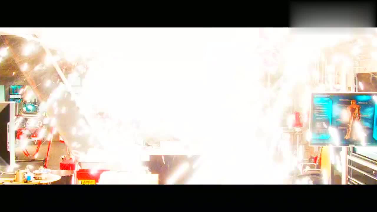漫威 :钢铁侠,满满的机械感,一个字帅,两个字,安逸。高清剪影