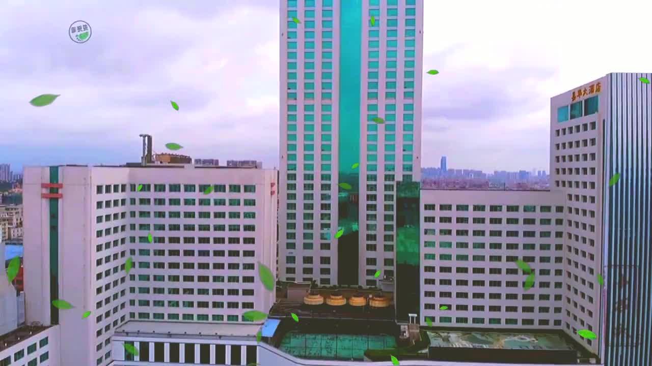 航拍厚街第一高楼,曾经辉煌的嘉华五星级大酒店
