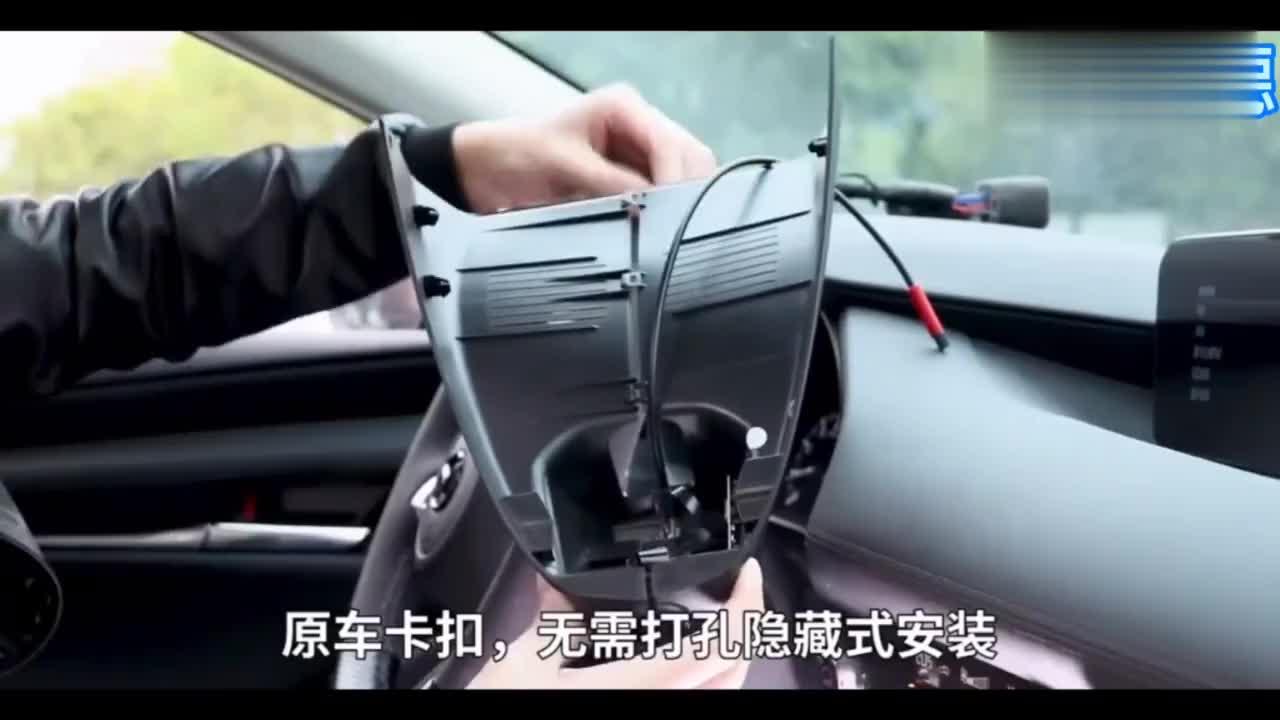 视频:20款马自达3昂克赛拉免走线安装行车记录仪,海思芯片不走线安装