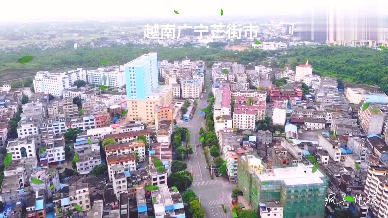 广西东兴市离越南多远几十米,就像一个国家