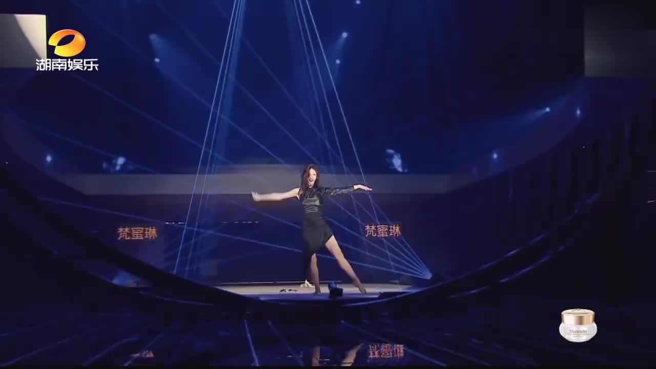 金晨舞姿太撩人,评委直接扔出高分,黄晓明:被耽误的女团选手!