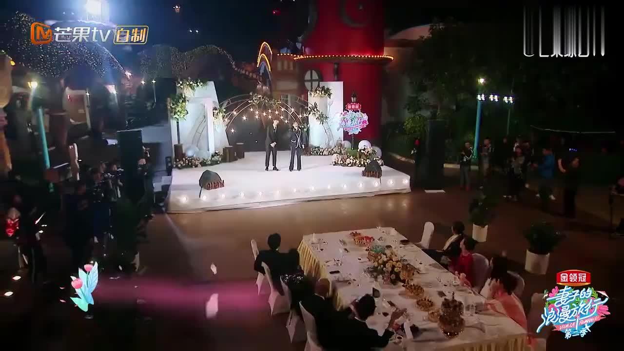 谢娜魏大勋版《那些花儿》,师徒俩现场放大招,章子怡听嗨了!