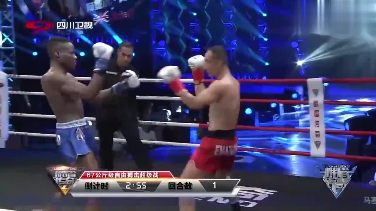 中国麻绳泰拳第一人!梁守涛拿多个冠军头衔,英国名将不是他对手