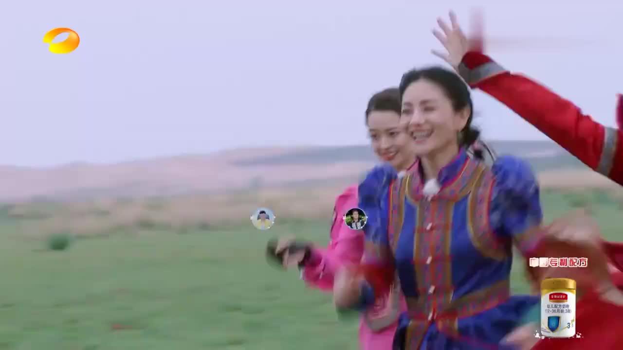 蒙古族小伙展现超强骑射实力,看呆谢娜吉娜,一旁金瀚惨遭无视!