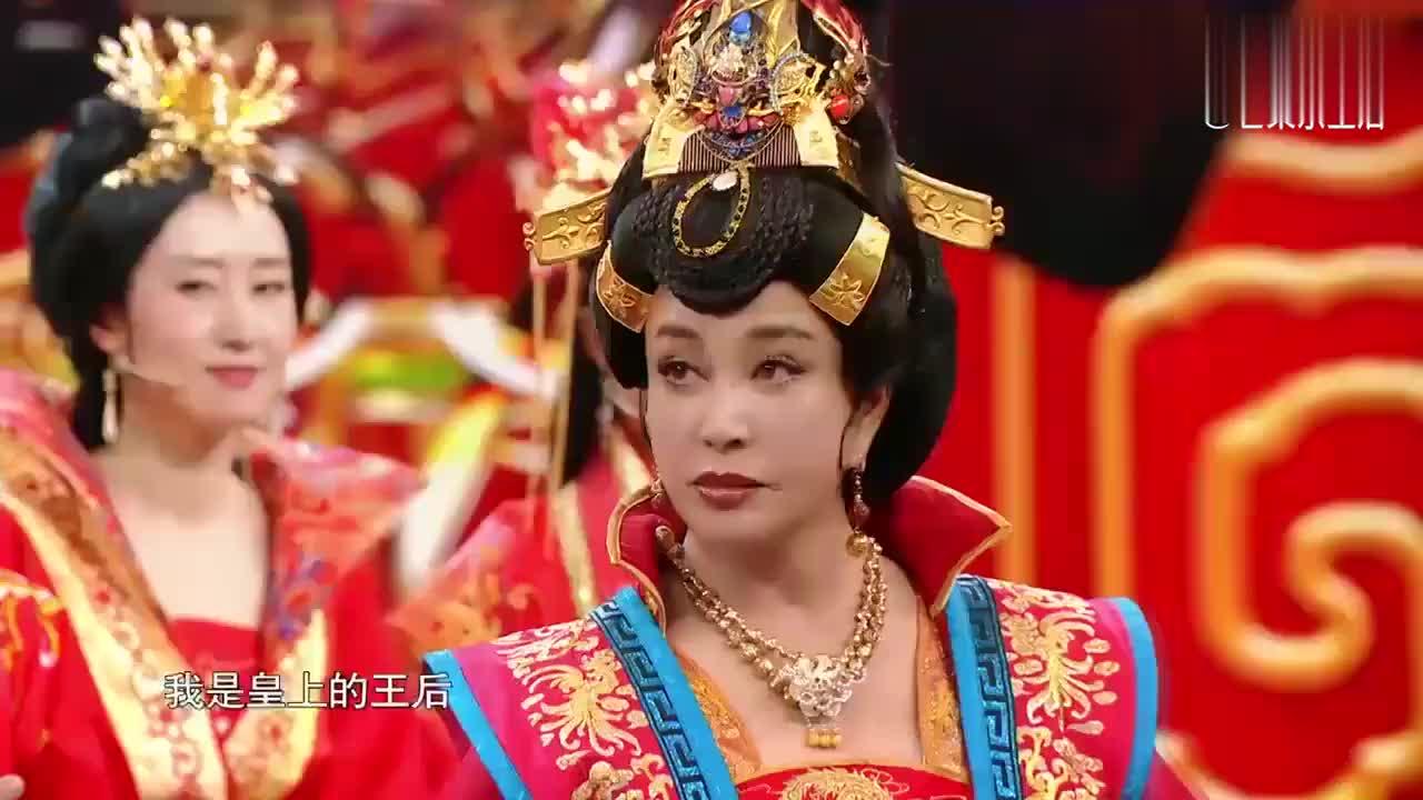 """刘晓庆蔡少芬""""皇上""""PK,不料被夸到出戏,全场爆笑"""