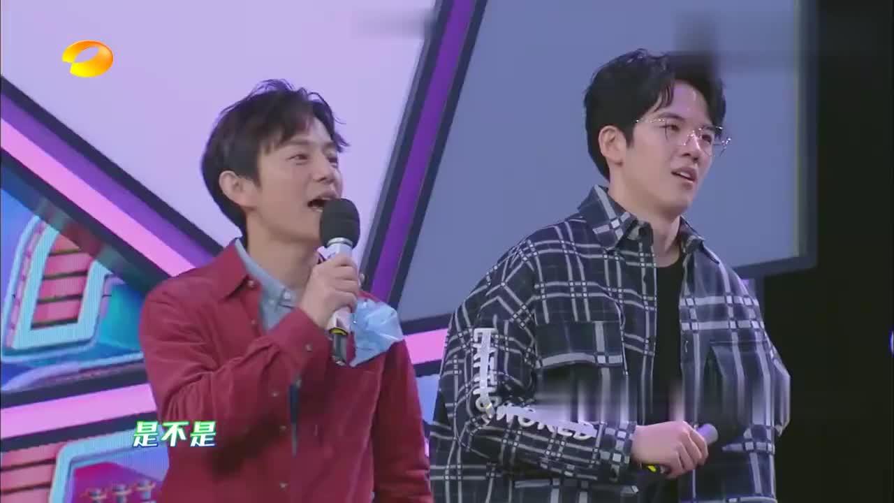 """吴磊表演""""落地成盒"""",这么难的动作,还让宋祖儿给猜对了!"""