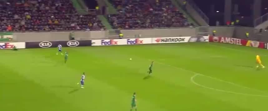 哈维洛佩斯头球送助攻,坎普萨诺推射破门