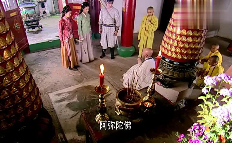 仙剑奇侠传一:三人见到智修大师,他同意下山治病