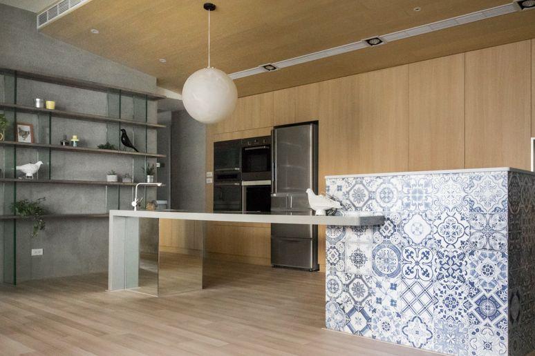 打造出时尚个性的房屋,简约的装饰处理,给人一种高雅的感觉