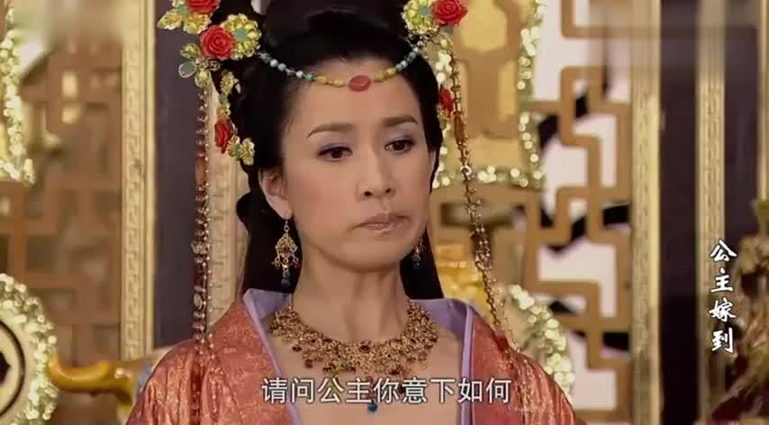 公主和婆家一向水火不容,没想到一个小小的丫环,竟成了亲善大使