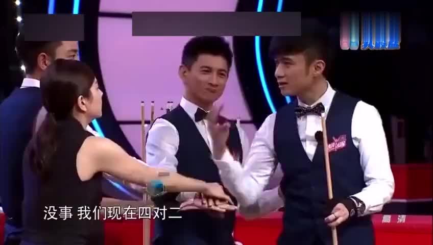 来吧冠军潘晓婷刘莎莎实力太强终结者队根本没出手机会