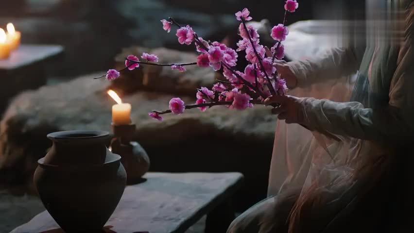 墨渊上仙仙体躺在青丘,白浅细心照看,日日虔心祈求跪拜!