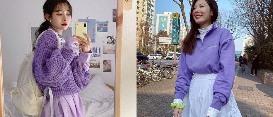泫雅、Jennie都在穿!温柔又气质的香芋紫色系,穿出摩登气息!