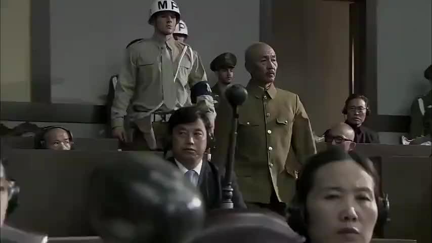 松井石根被军事法庭判处绞刑,直接吓得晕倒,早知今日何必当初