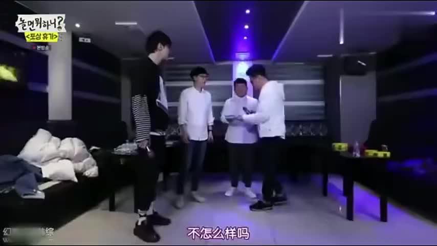 韩综:李光洙唱到大汗淋漓还不过瘾,跑男感情真好