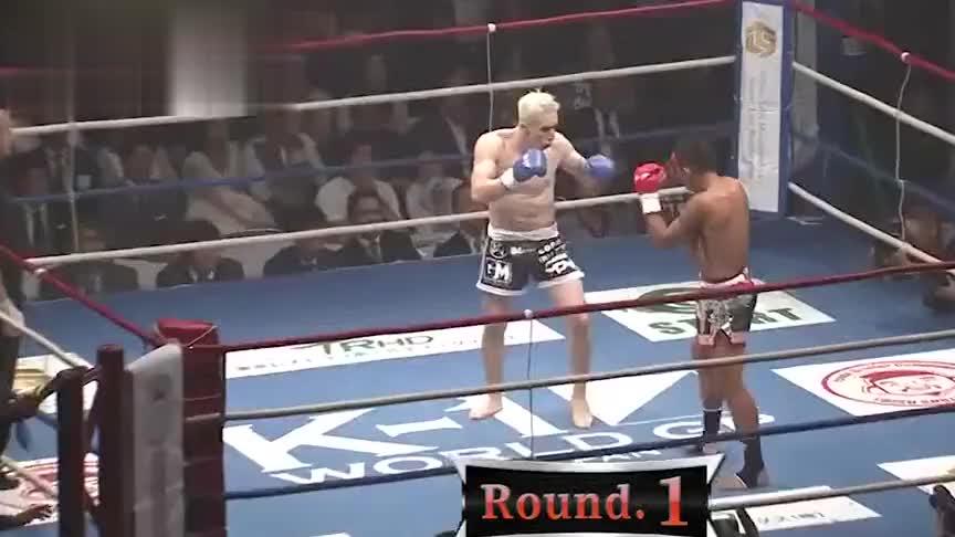 世界第一泰拳王称霸日本后,自信心膨胀竟妄图征服中国