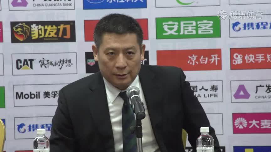 四川新闻发布会 周金利认可球员的坚持不懈