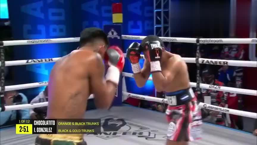 最新拳王争霸战,前P4P之王冈萨雷斯击败对手成功卫冕金腰带