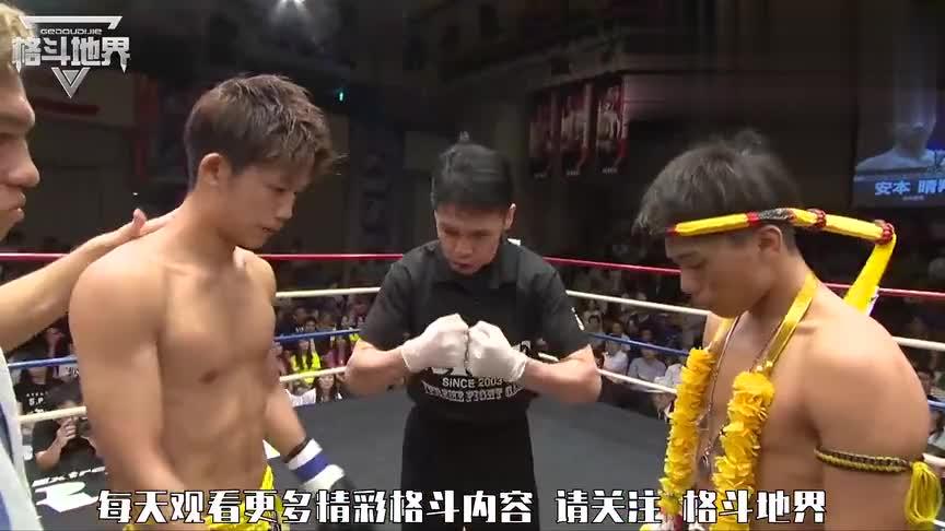 这小伙打起来这么猛,追着对手连续重拳KO,裁判急忙扑救对手!