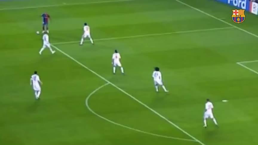 巴萨与拜仁的欧冠大战一触即发 重温两队近代交锋史巴萨经典进球